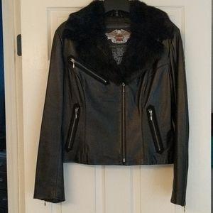 Women's Harley Davidson leather jacket